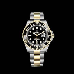 Rolex Seadweller SS/YG Model #126603