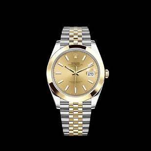 Rolex 41MM Datejust SS/YG Model #126303
