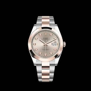 Rolex 41MM Datejust SS/RG Model #126301