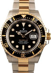 Pre-owned Rolex Sea-Dweller 126603