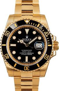 Pre-owned Rolex Submariner 116618LN