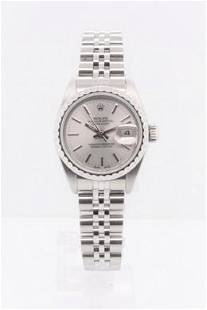 Pre-owned ROLEX DATEJUST Model #69240 S/S 26mm #A2898