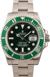 Pre-owned Rolex Submariner 116610LV