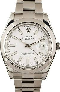 Pre-owned Rolex Datejust II - 116300