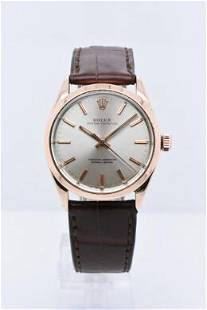 Pre-owned ROLEX OYSTER PERPETUAL Model #1024 gold plate