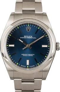 Pre-owned Rolex Oyster Perpetual 114300