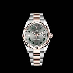 Rolex 41MM Datejust SS/RG Model #126331