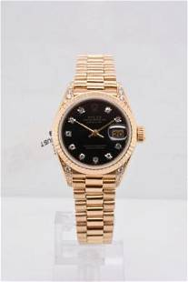Pre-owned ROLEX DATEJUST Model #69188 Y/G 26mm #A2892