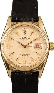 Pre-owned Rolex Datejust 6305