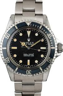 Pre-owned Rolex Submariner 5513