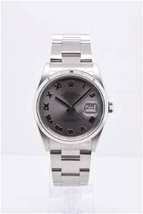 Pre-owned ROLEX DATEJUST Model #116200 S/S 36mm #A2752