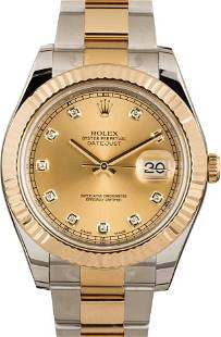 Pre-owned Rolex Datejust II - 116333