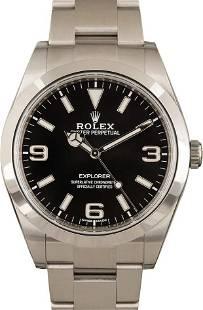 Pre-owned Rolex Explorer 214270
