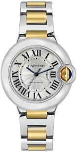 Cartier 33MM BB SS/YG Model #W2BB0002