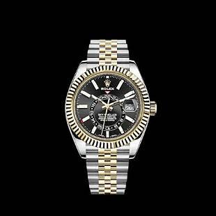 Rolex Skydweller SS/YG Model #326933