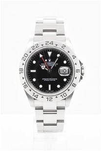 Pre-owned ROLEX EXPL II Model #16570 S/S 40MM #A2703