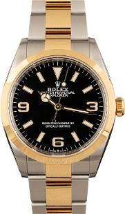 Pre-owned Rolex Explorer 124273