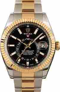 Pre-owned Rolex Sky-Dweller 326933