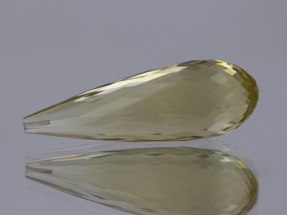 Lemon Citrine Briollete 31.55ct or over Loose Stone