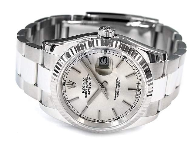 36mm Gents Rolex Stainless Steel Oyster Perpetual
