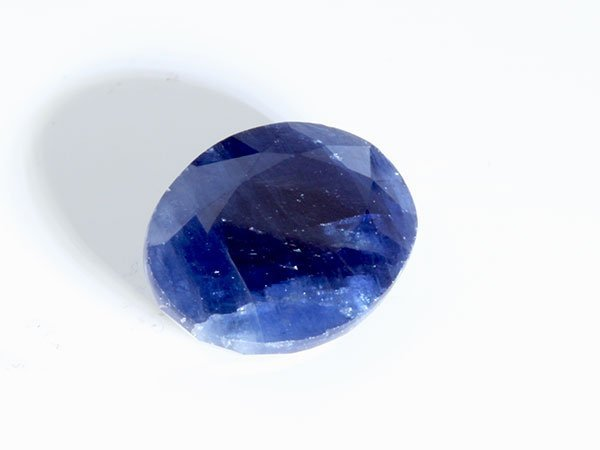 6 ct & up Natural Burma Blue Sapphire Oval Shaped ctw