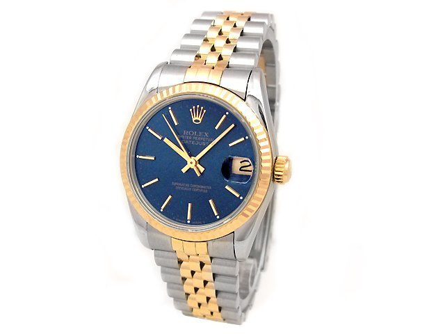 31mm Midsize Rolex 18k Gold & Stainless Steel Oyster