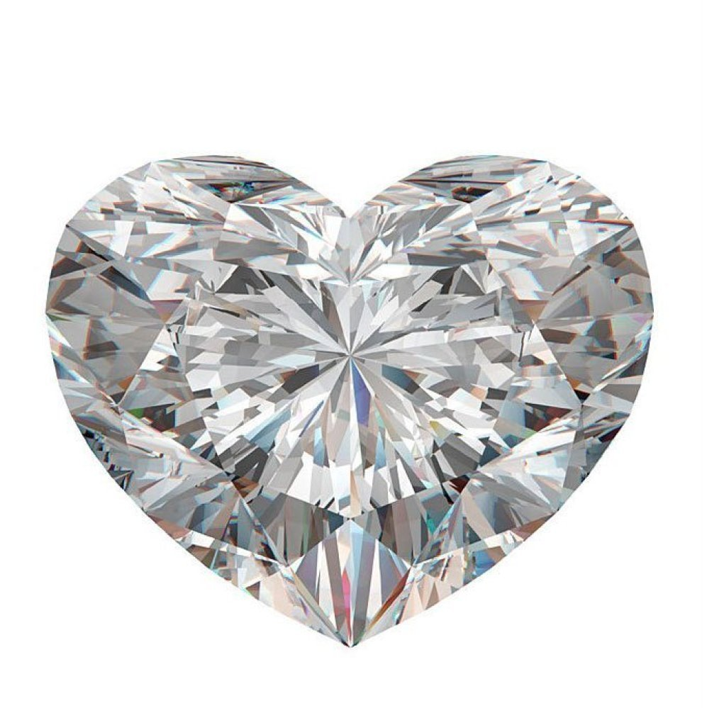 GIA/Heart/F/IF/1.02Ct