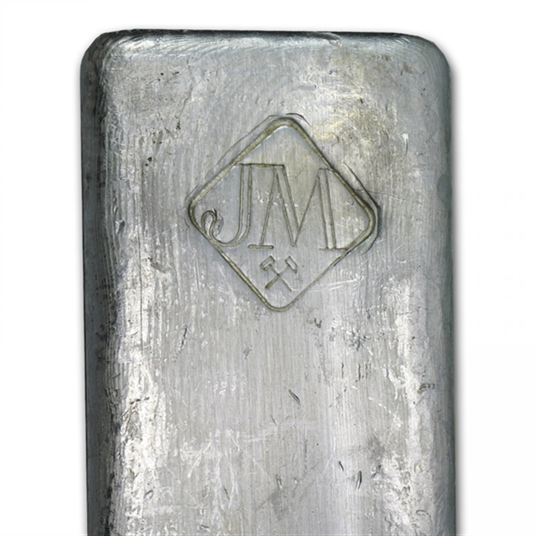 50 oz Johnson Matthey (Canada, Vintage) Silver Bar .999