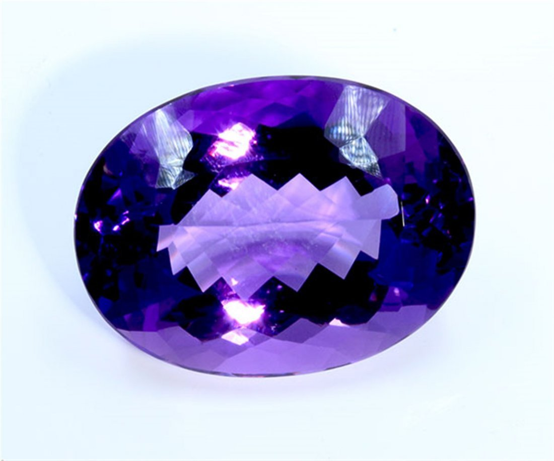 70 ct & up Amethyst Oval Shaped ctw