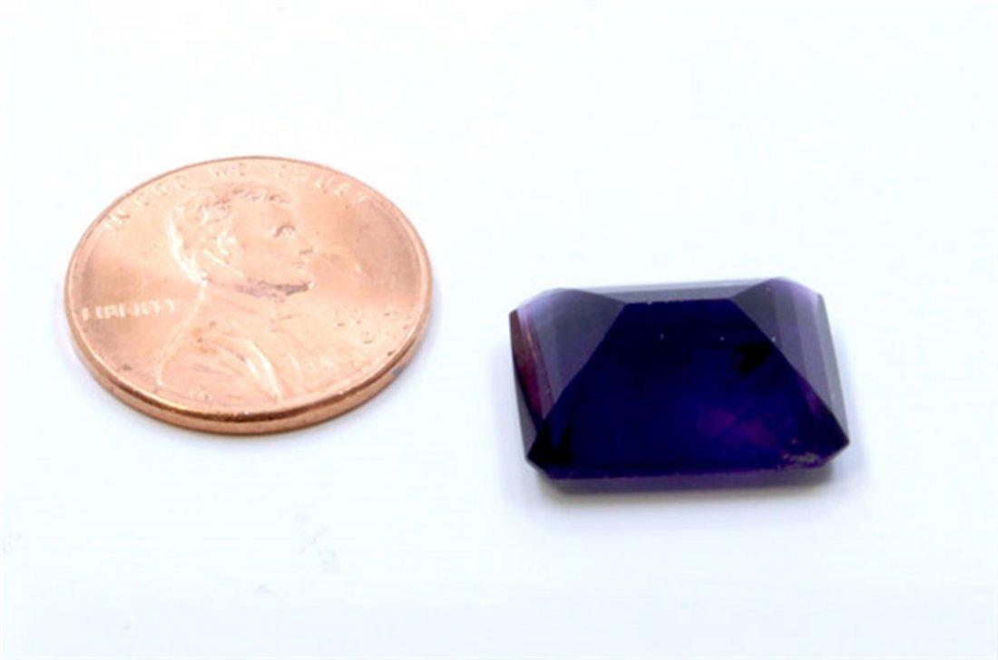 11 ct & up Amethyst Emerald Cut Loose Stone