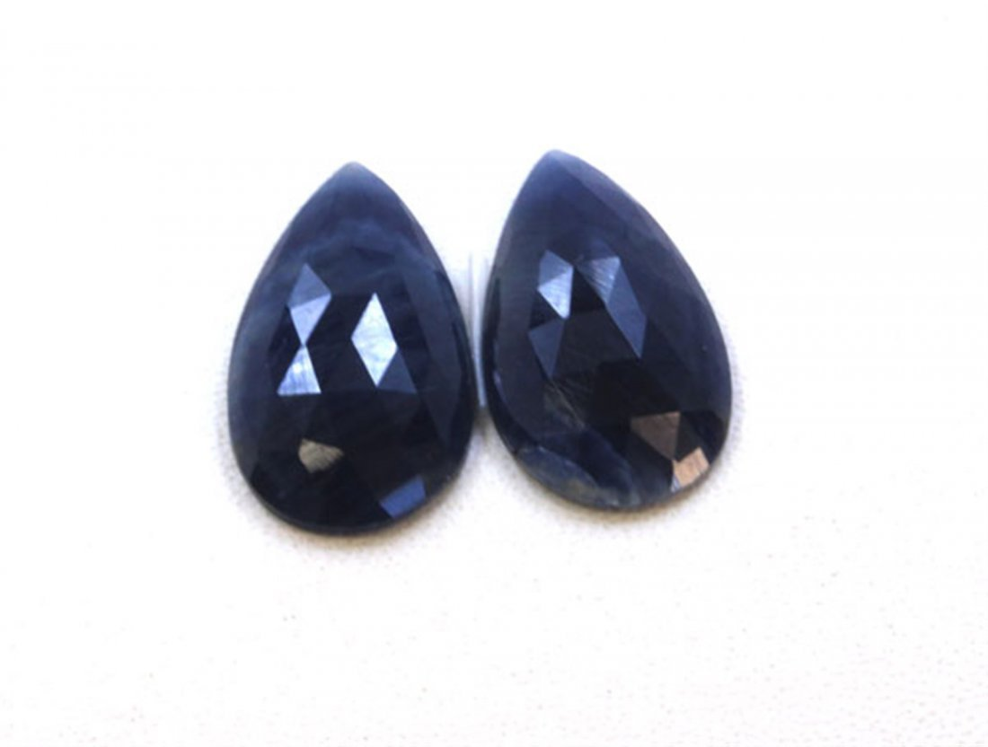 21 ct & up Natural Sapphire Slice Rose Cut Loose Stone