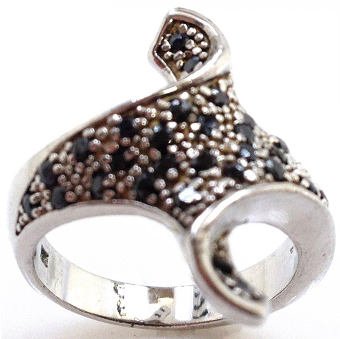Sterling Silver .925 Fancy Style Ring 6.42gr