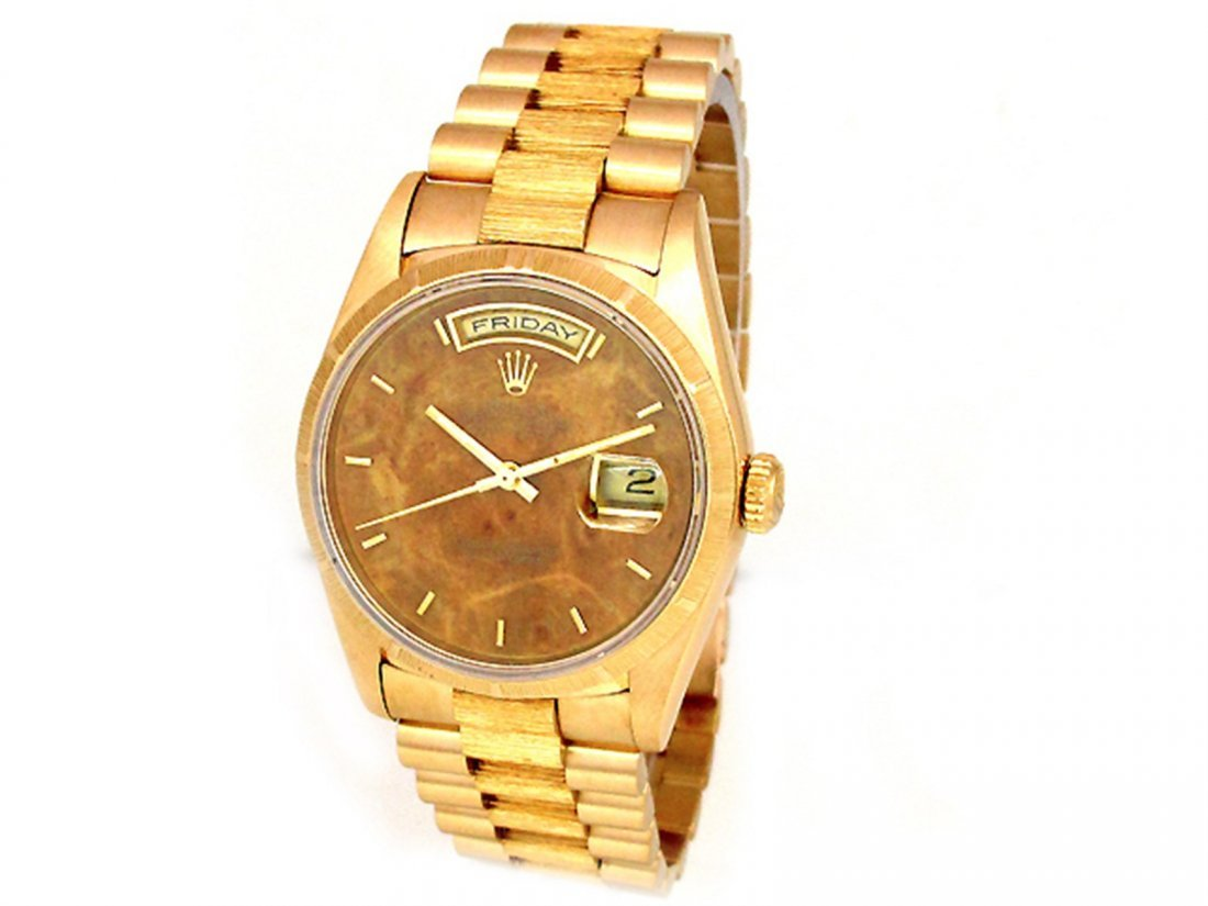 36mm Rolex 18K Yellow Gold Oyster Perpetual Daydate