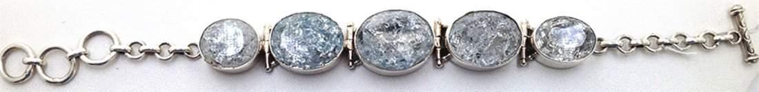 Sterling Silver 925 Vintage Quartz Bracelet