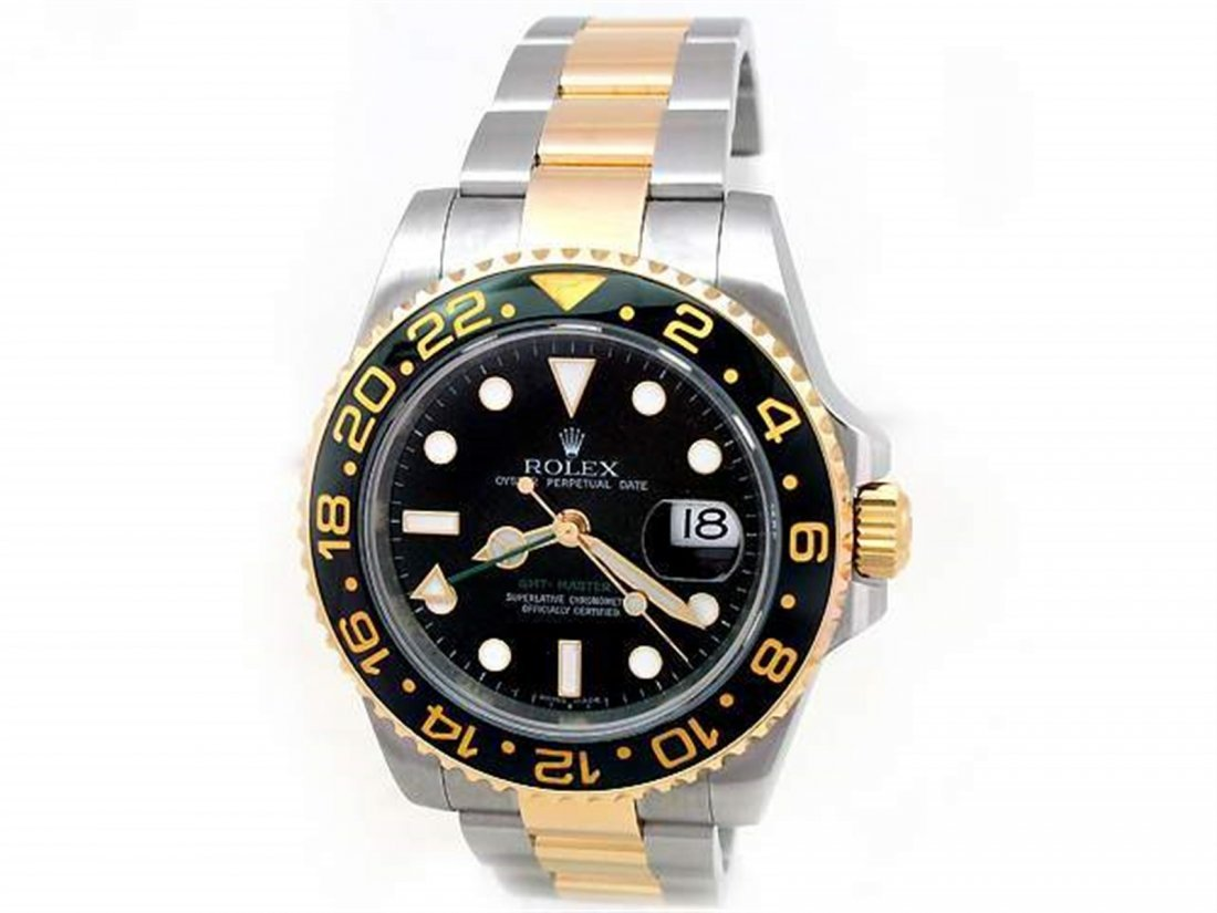 40mm Gents Rolex 18k Gold & Stainless Steel Oyster