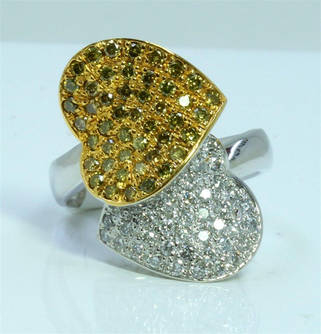 YELLOW DIAMOND 0.76CT