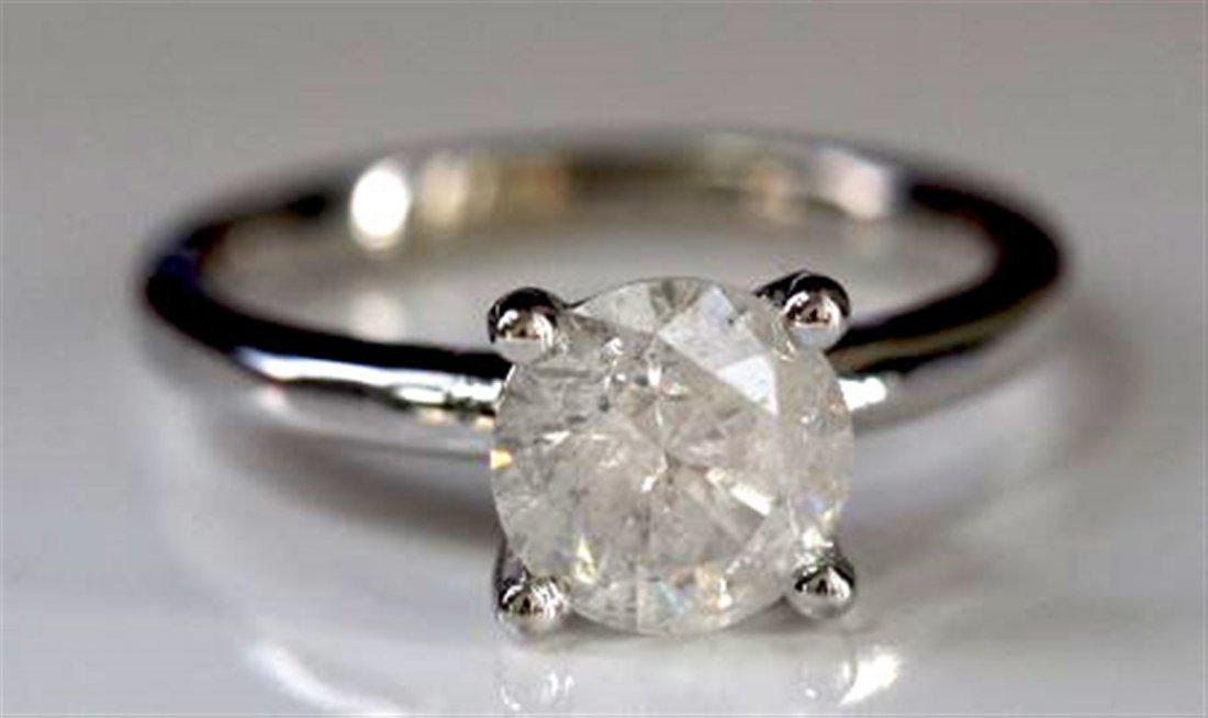 Diamond Solitaire 1.67ct Ring