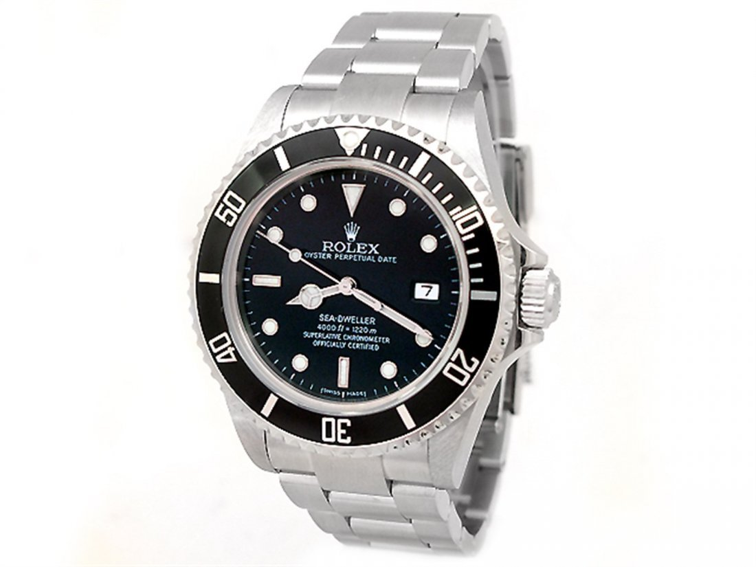 40mm Gents Rolex Stainless Steel Oyster Perpetual Sea