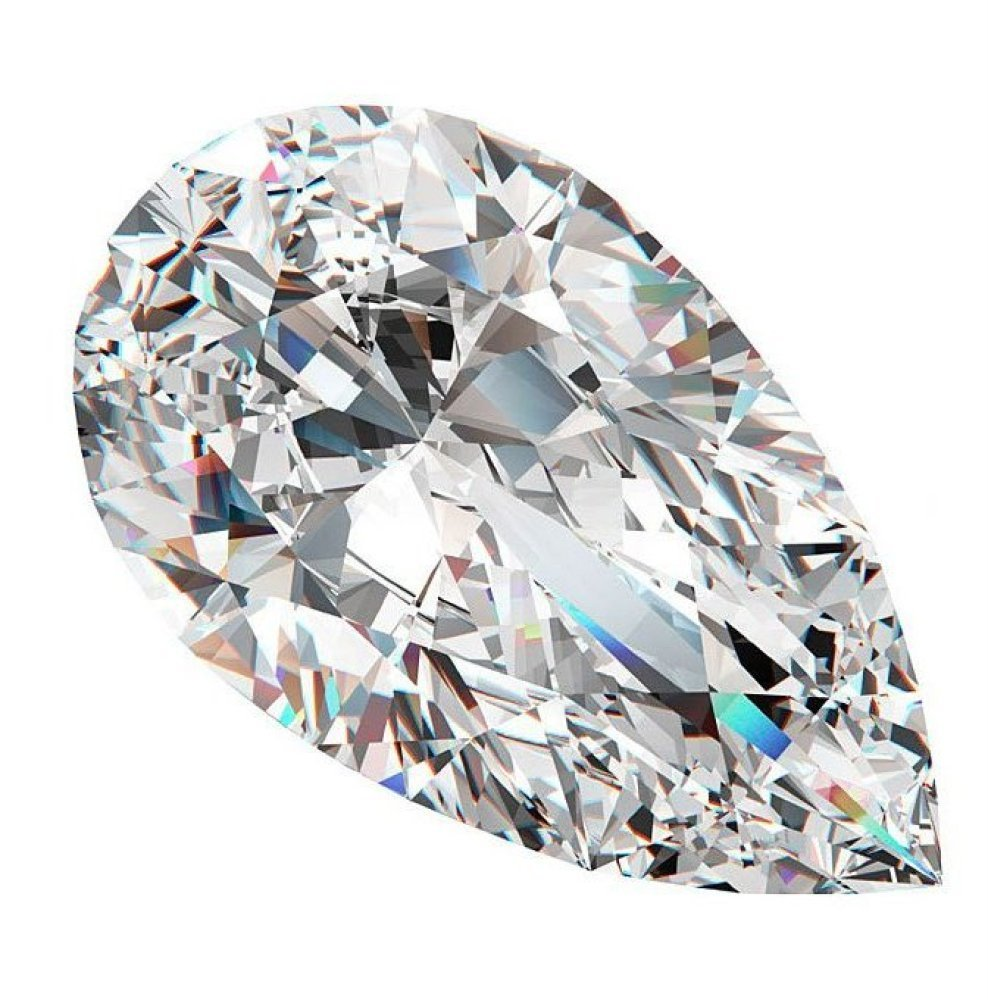 GIA/PEAR/D/IF/0.55ct