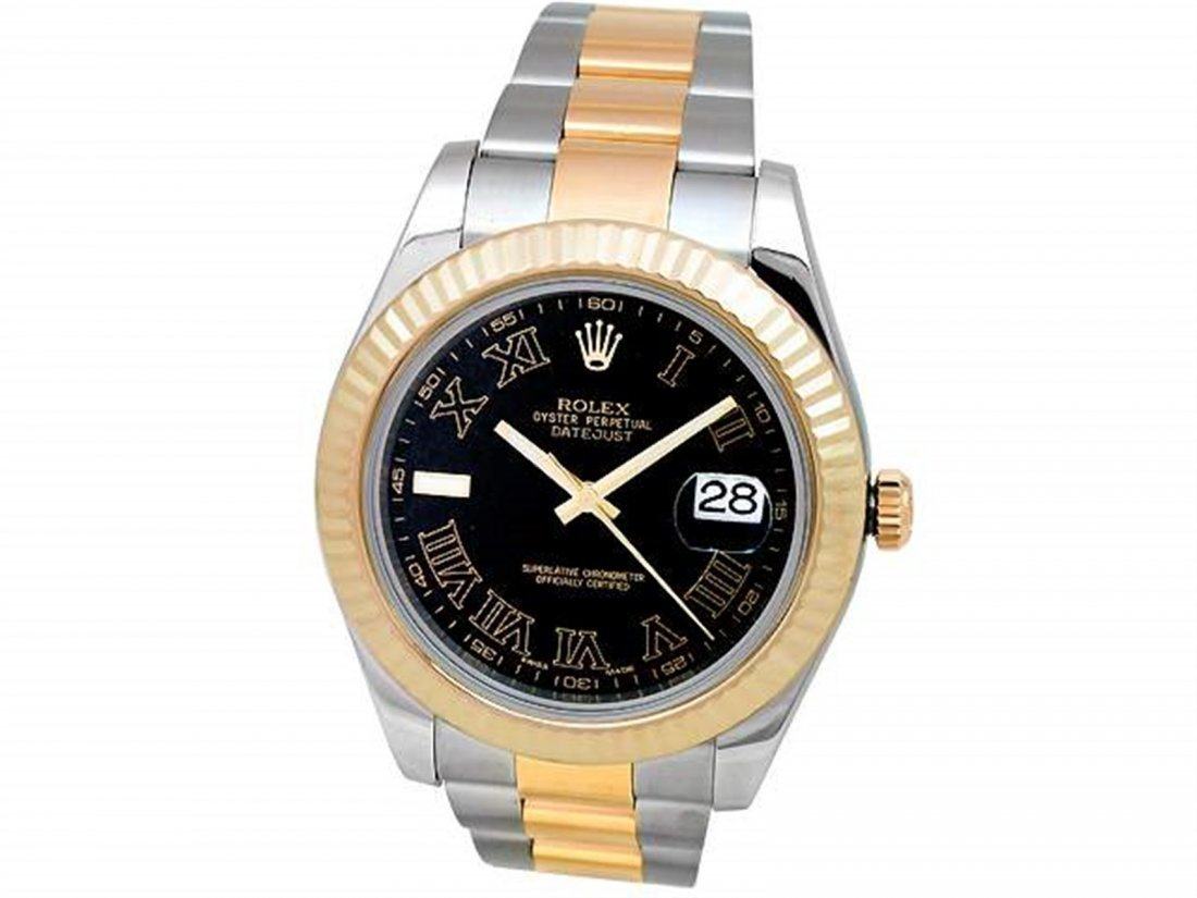 41mm Gents Rolex 18k Gold & Stainless Steel Oyster