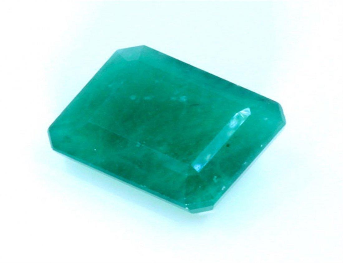 10 ct & up Emerald Square cut
