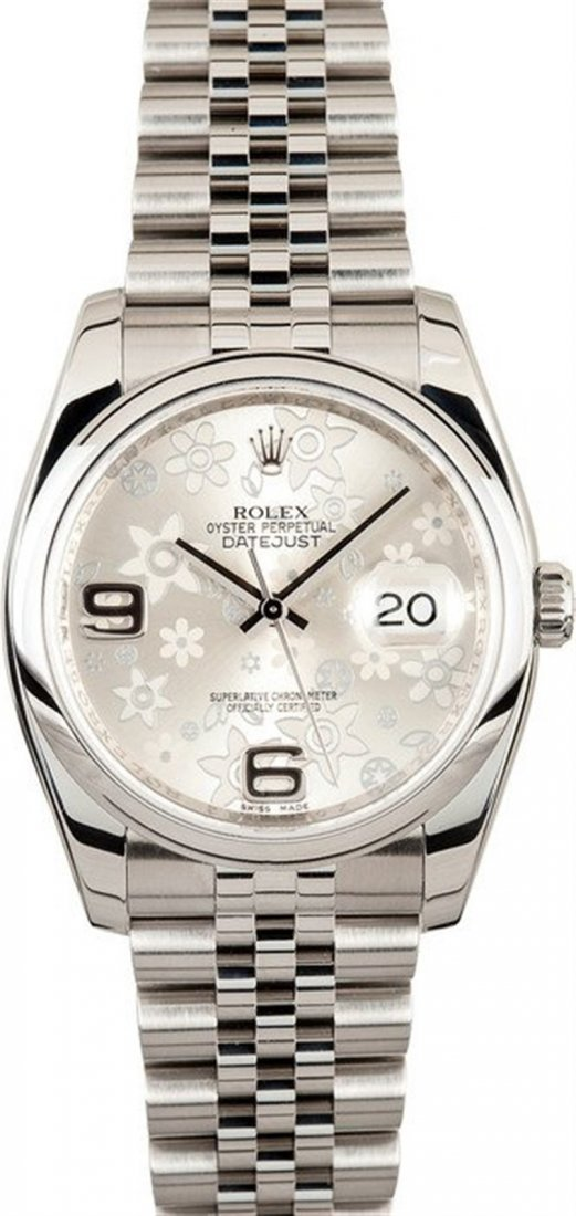 Pre-owned Rolex Date Just