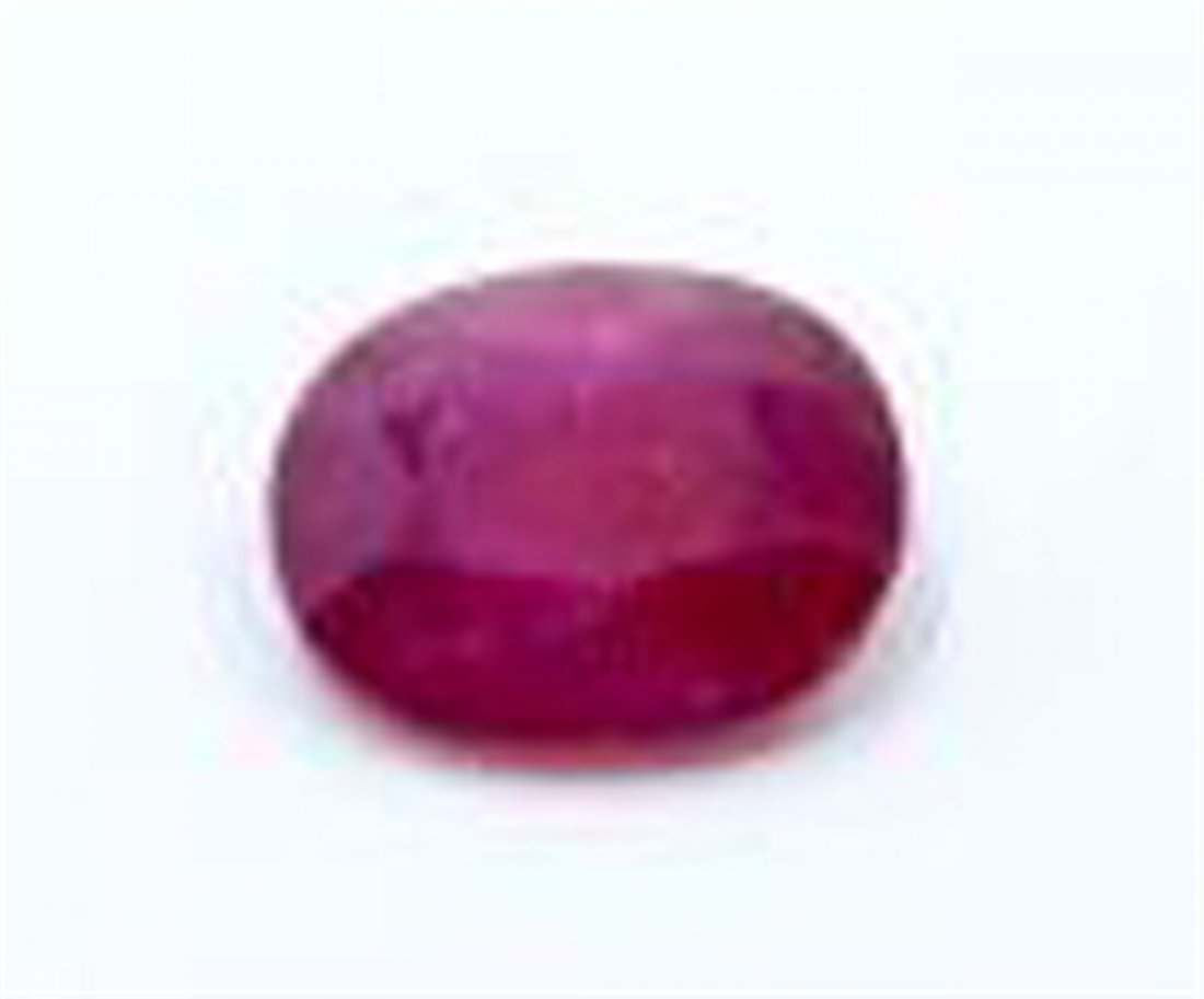 18.81 ct & up Ruby Oval loose stone