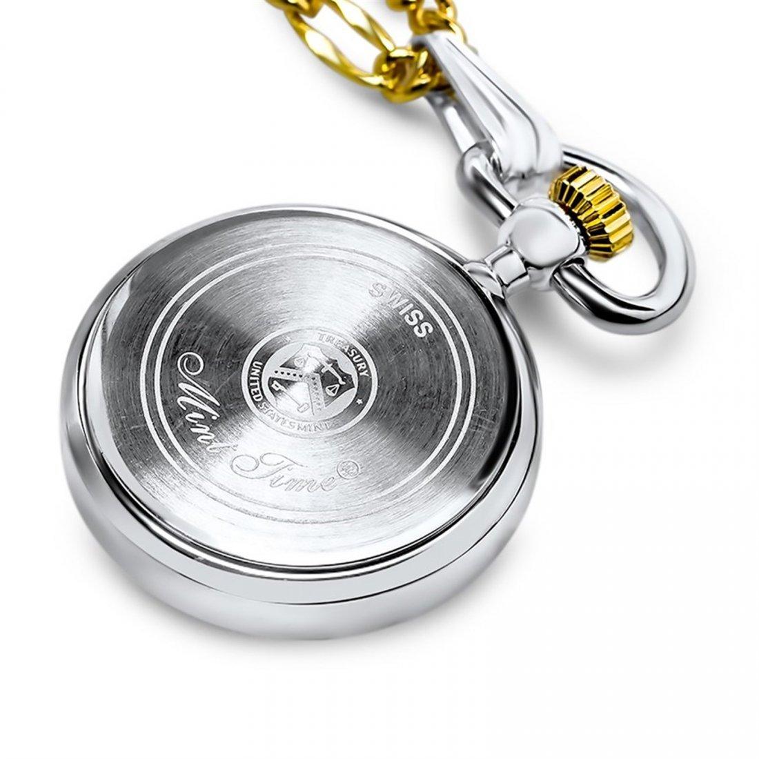 US Mercury Dime Watch Pendant