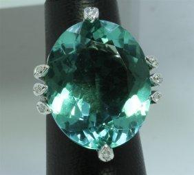 14k : 8.93g/diamond : 0.43ct/g.flourite : 29.76ct