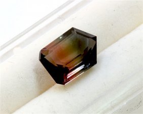 3.96 Ct Natural Bi-color Tourmaline