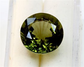 12.02 Ct Natural Green Tourmaline