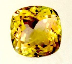 3.45 Ct Natural Yellow Green Tourmaline