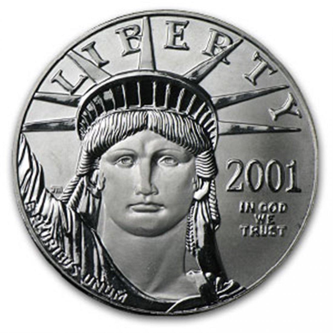 2001 1 oz Platinum American Eagle BU