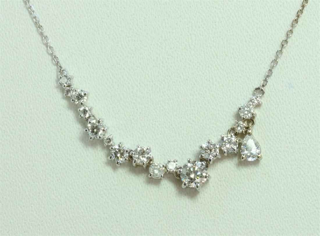 14K:3.1g/Diamond:1.25ct/Pear Diamond:0.2ct